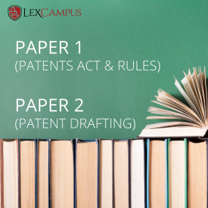 Patent Agent Exam Training Online Course on Paper 1 and Paper 2