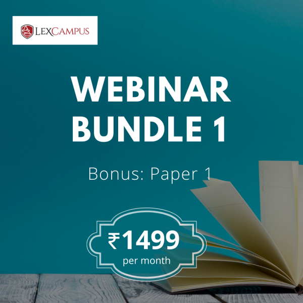 Patent Agent Exam Training Webinar Bundle 1